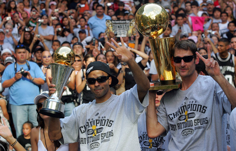 San Antonio Spurs NBA Championship Parade