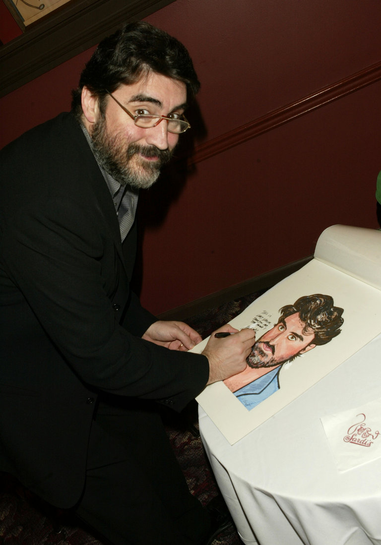 Alfred Molina Gets Hung On Sardi's Famous Wall