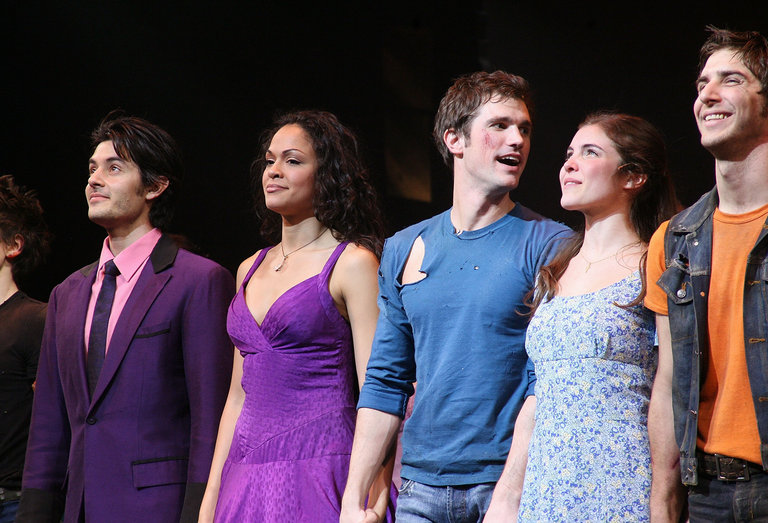 """""""West Side Story"""" Broadway Revival Opening Night - Arrivals And Curtain Call"""
