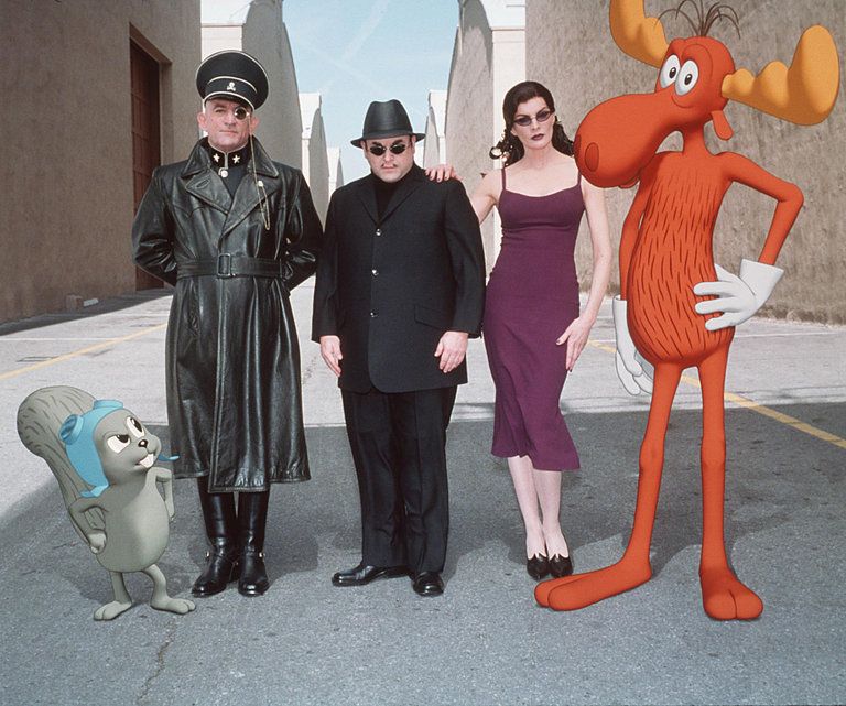 """Robert De Niro, Jason Alexander, and Rene Russo star in """"The Adventures of Rocky and Bullwinkle."""""""