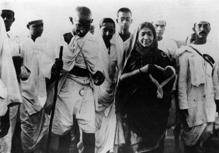 Gandhi And Naidu
