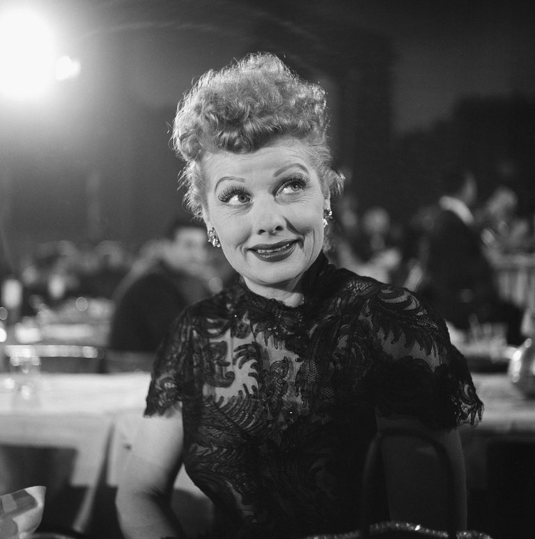 March 7, 1955, Hollywood, Lucille Ball
