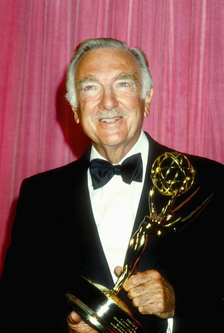 Walter Cronkite At The Emmy Awards