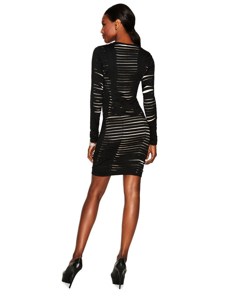 Daniel's BodyCon Dress - Slashed