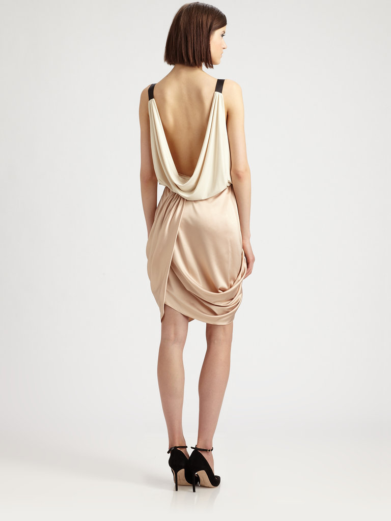 Silvia's Mini Draped Dress