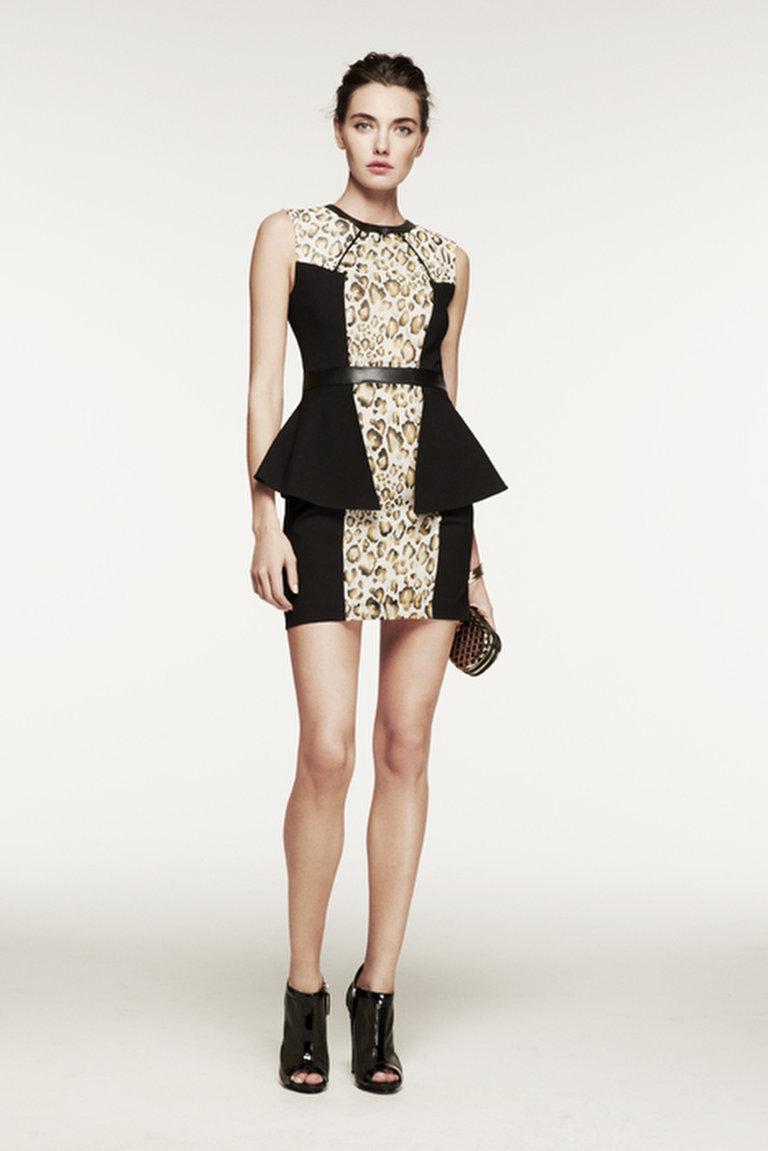 Hunter's Peplum Dress