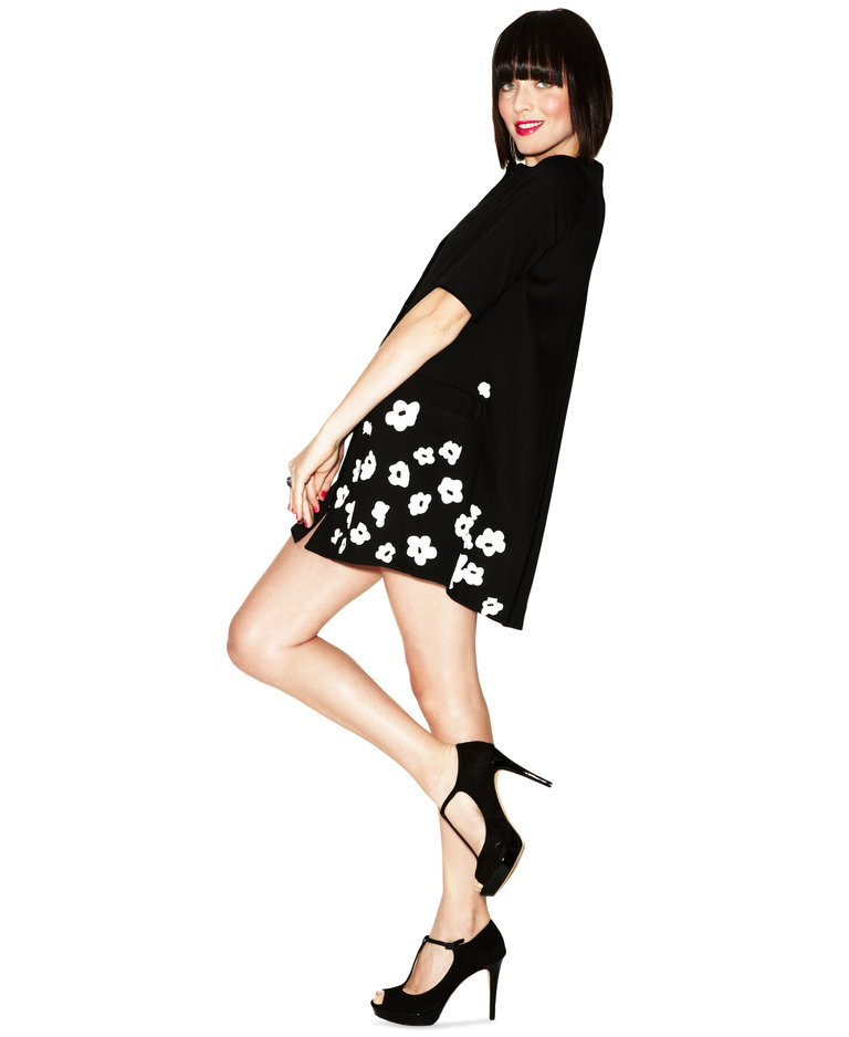 Silvia's A-Line Coatdress