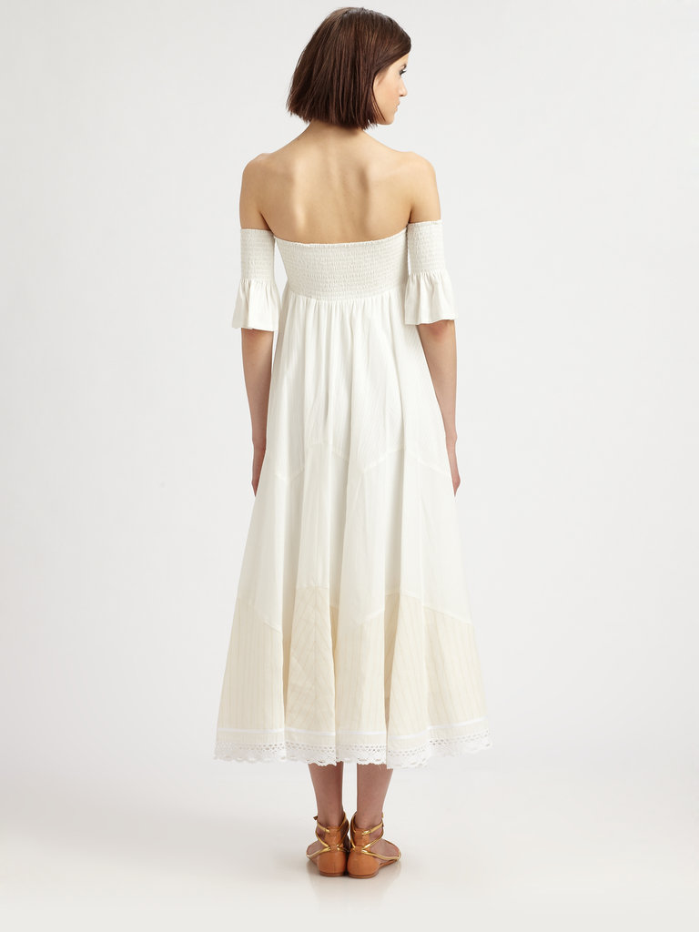 Silvia's Skirt and Strapless Dress