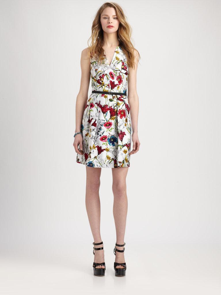 Hunter's Printed Short Dress