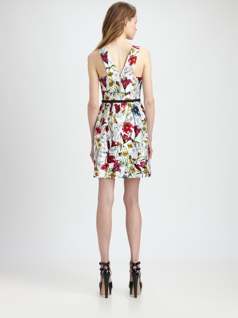 Hunter's Printed Short Dress