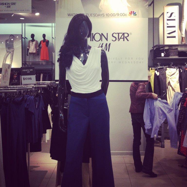 I bought Sarah's H & M pants