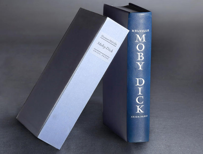 """""""Moby Dick, """" Illustrated Limited Edition"""