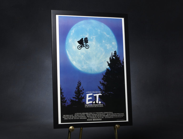 Limited Edition E.T.: The Extra-Terrestrial Movie Poster