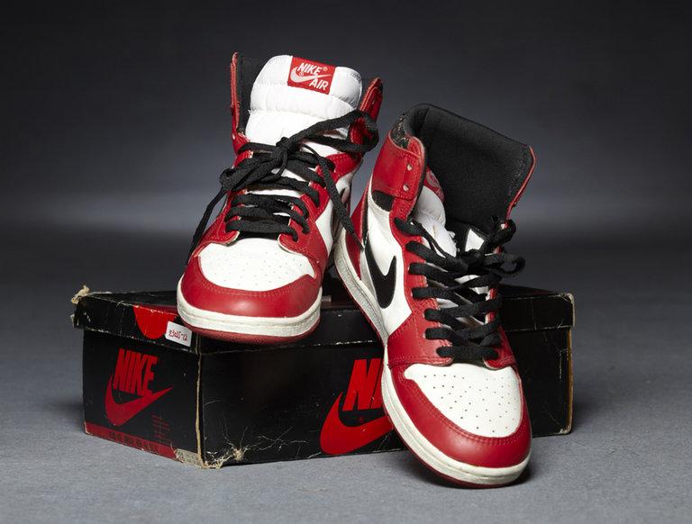 1985 Original Nike Air Jordan 1s