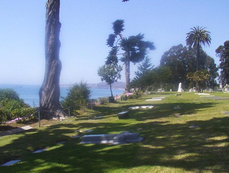Sunset Section Burial Plots, Santa Barbara, California
