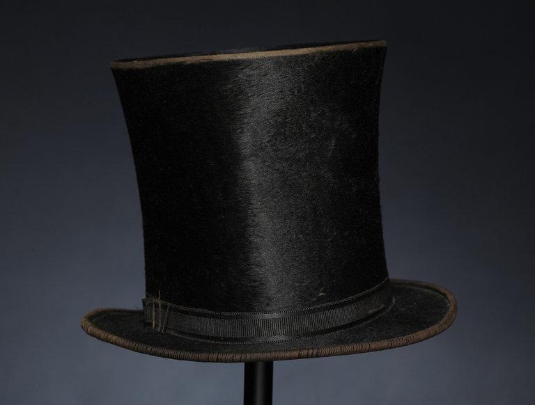 Beaver Skin Top Hat (circa 1860)