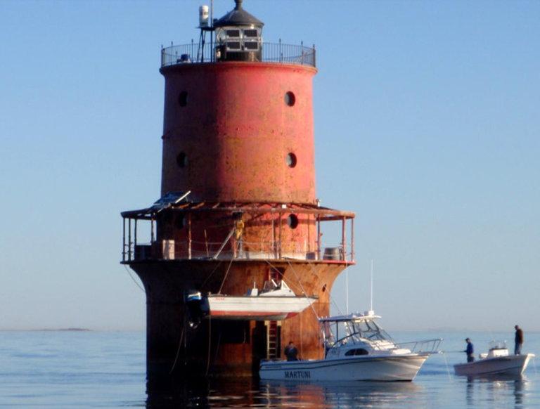 Thimble Shoal Lighthouse, Chesapeake Bay, Virginia
