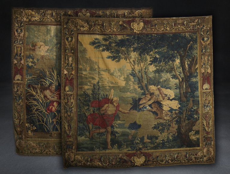 Pair of 17th Century French Tapestries