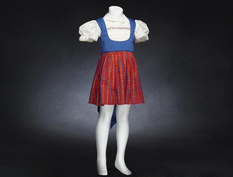 Dress from The Brady Bunch Pilot Episode, Worn by Cindy Brady