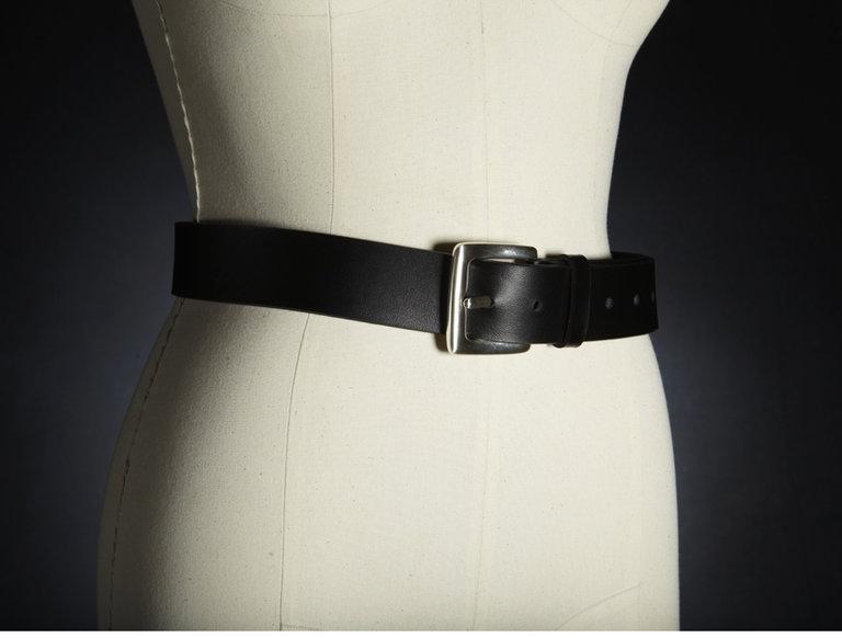 Marilyn Monroe's Black Velvet Belt