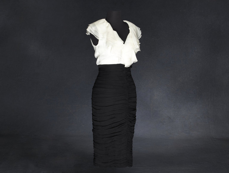 Designer Dress Worn by Paris Hilton