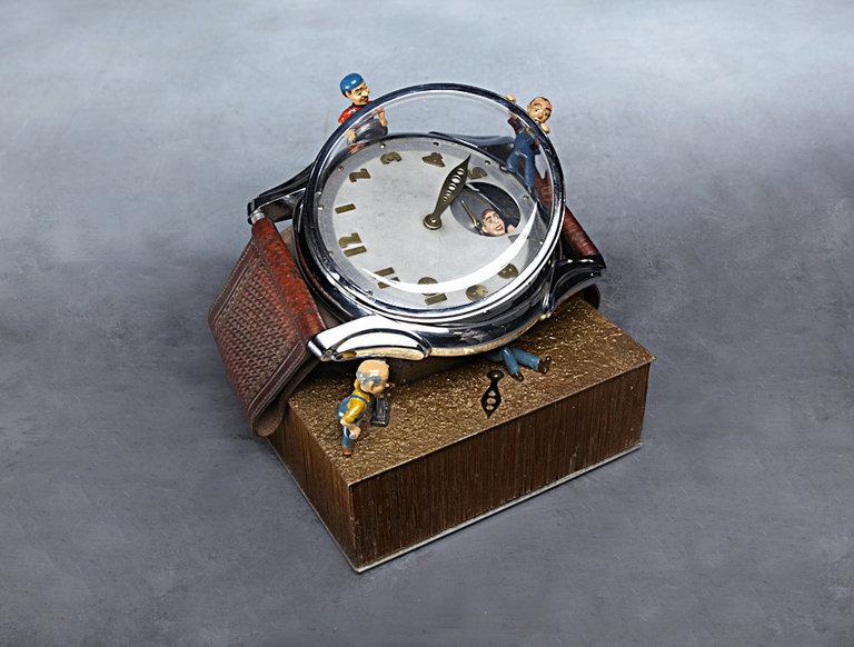 Baranger Wristwatch Window Display