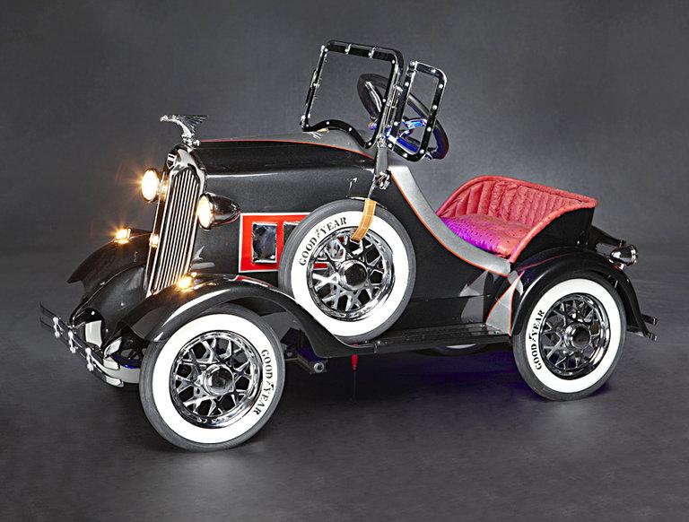 1930s American National Auburn Pedal Car