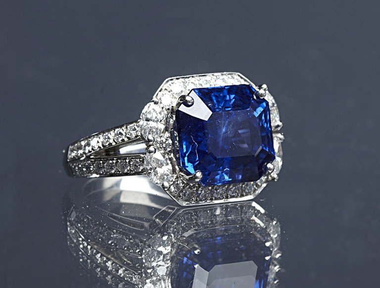 Sapphire Ring, Inspired by Kate Middleton