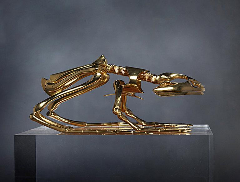 Tony Duquette Gold Toad