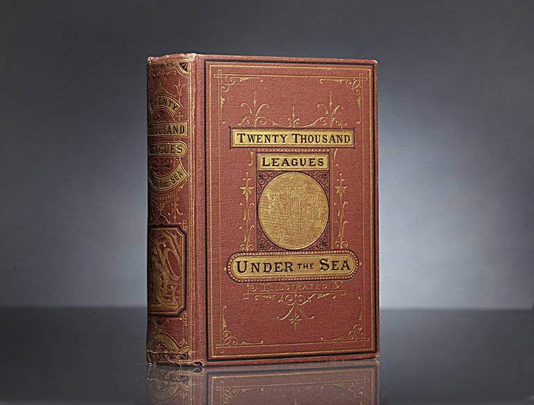 """20,000 Leagues Under the Sea,"" First American Edition"