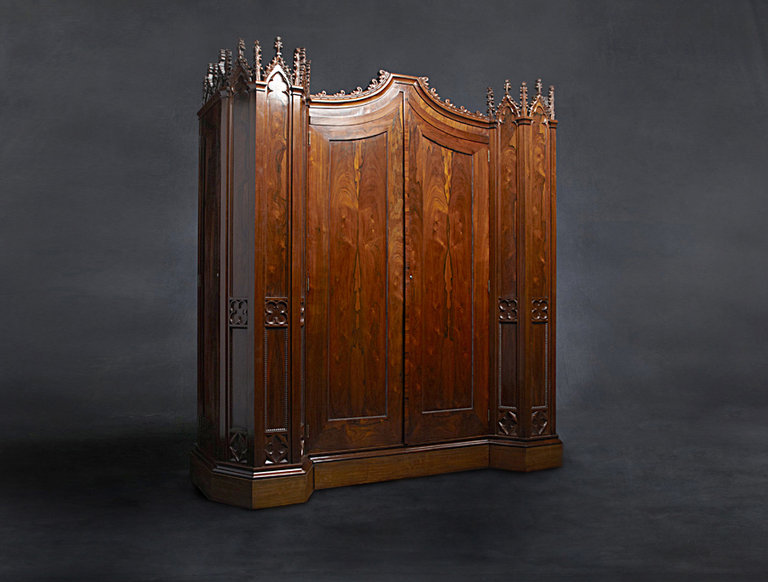 Henry Clay Rosedown Armoire (circa 1844)