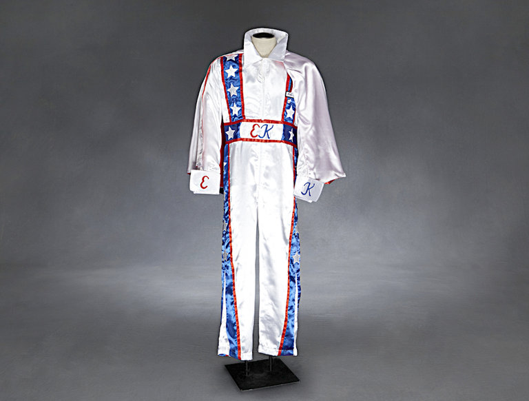 Evel Knievel Jumpsuit and Cape (circa 1970s)