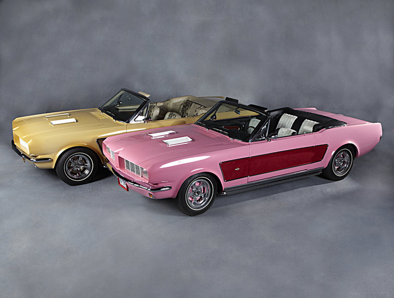 1966 Sonny and Cher Mustangs