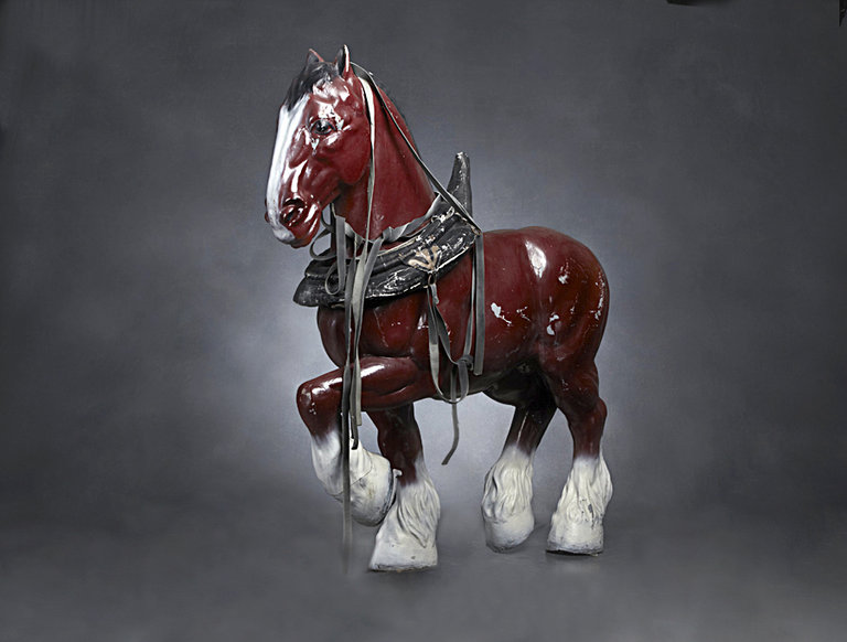 1942 Budweiser Clydesdale