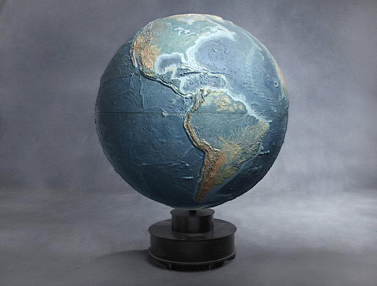 Topographical Globe (circa 1950s)