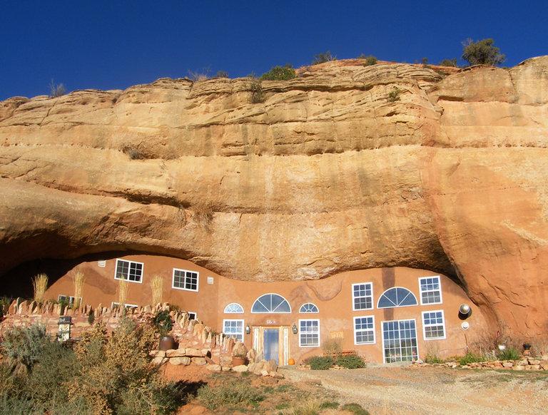 Cave House, Monticello, Utah