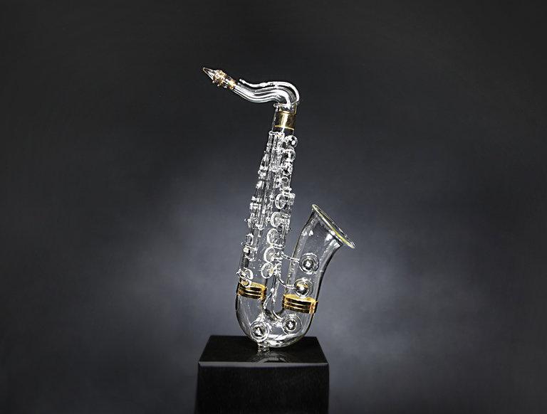 Glass and Diamond Saxophone