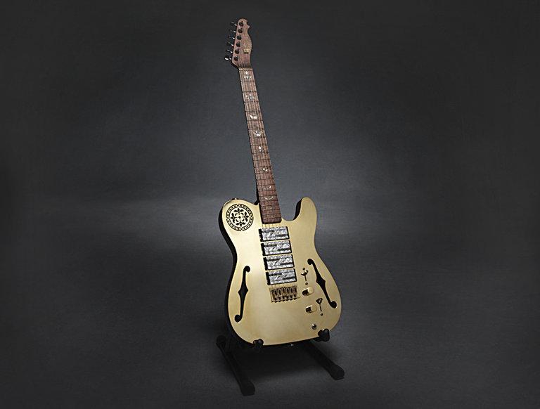 2010 Goldcaster Guitar