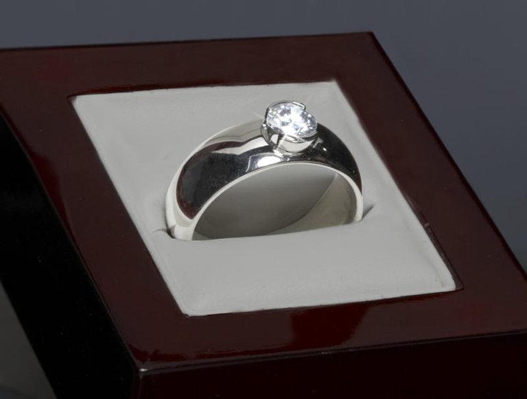 One-Karat Synthetic Diamond