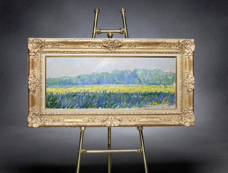 "Monet's ""Champ D'Iris Au Matin, Giverny"" (circa 1887)"