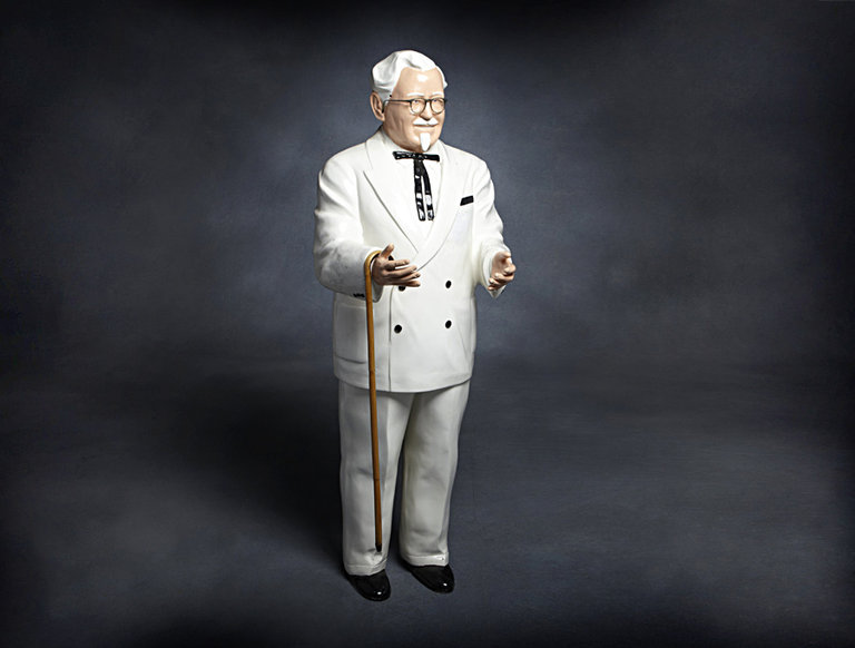 Life-size Statue of Colonel Sanders