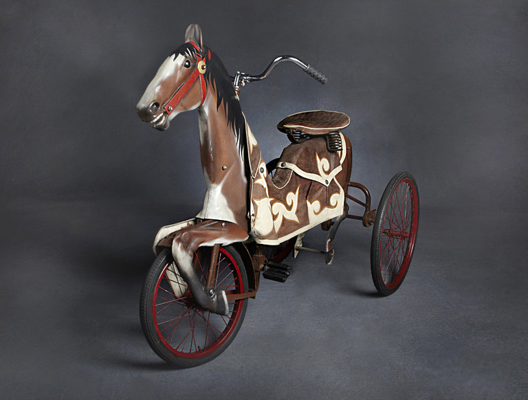 Adult-Sized Carnival Horse Racing Bike