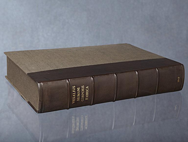 Vesalius Latin Anatomy Book