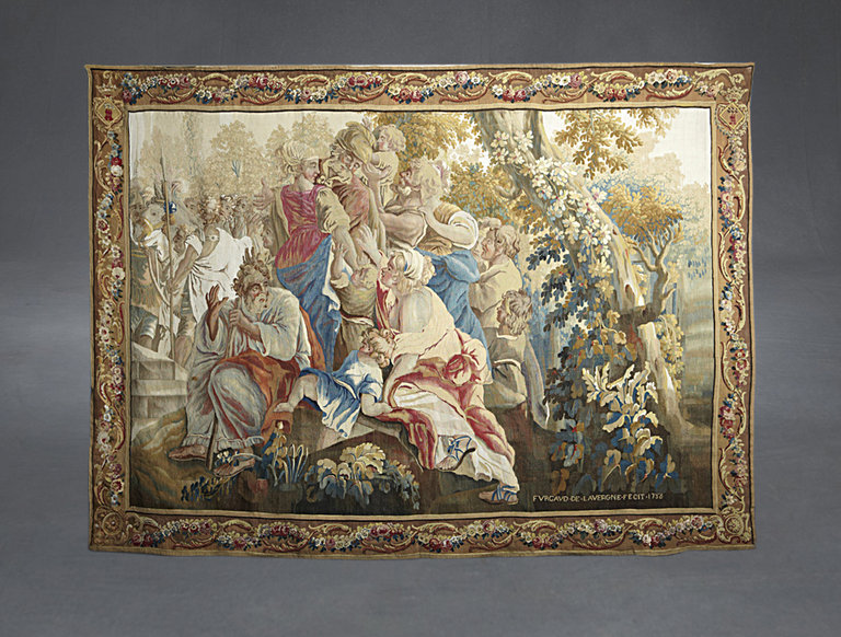 French Tapestry, Marriage of Joseph