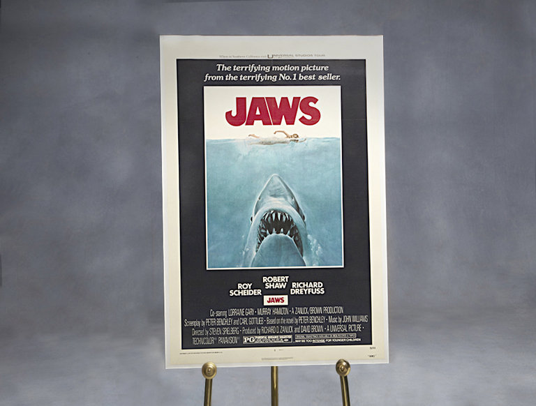 """Jaws"" Movie Poster (circa 1975)"