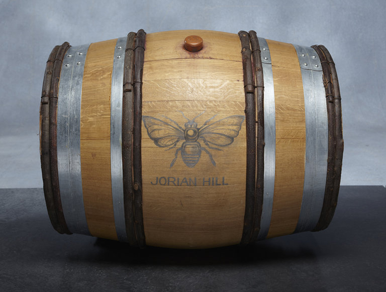 Jorian Hill Vineyard 2008 BEEspoke Wine Barrel
