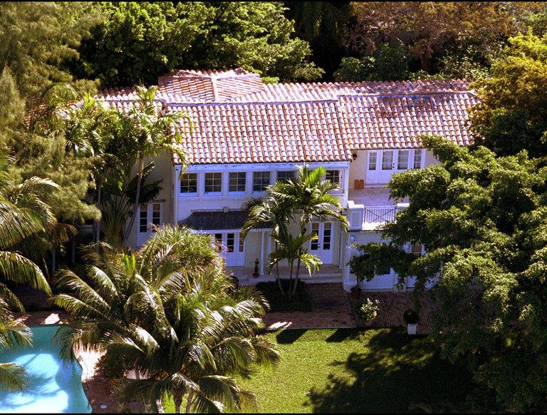 Ricky Martin's Coral Beach Estate, Miami, Florida