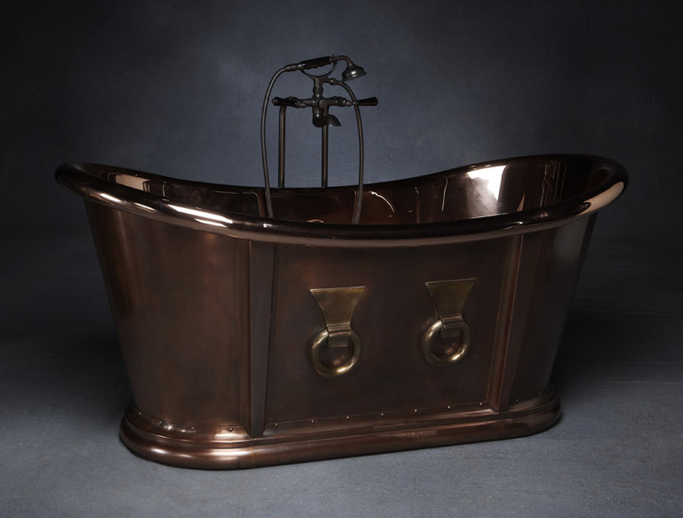Kallista Archeo Copper Bathtub