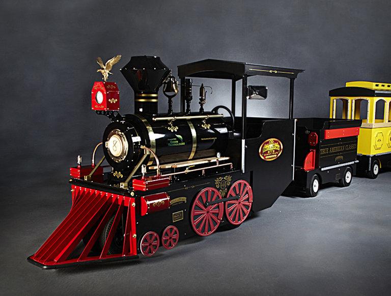 True American Classics Trackless Train