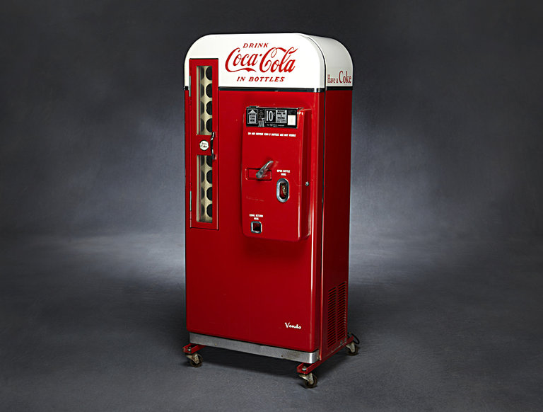 Vendo 81 Coke Machine